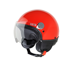 casque vespa visor rouge. Black Bedroom Furniture Sets. Home Design Ideas